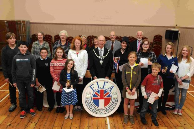 Kids' twinning association competition is one to remember