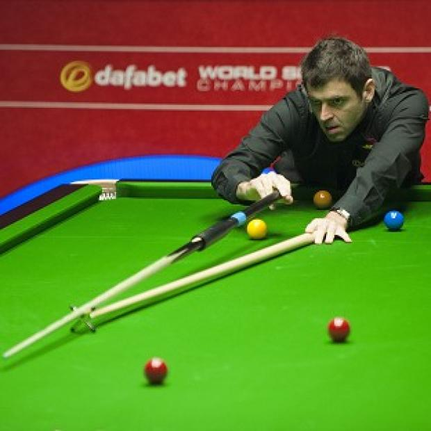 Salisbury Journal: Ronnie O'Sullivan had an easy job of progressing to the Dafabet World Snooker Championship semi-finals
