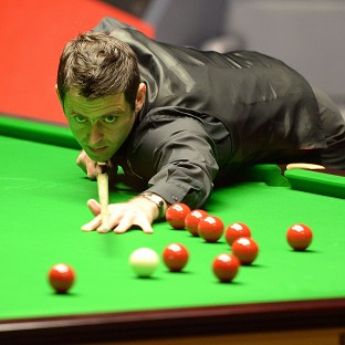 Ronnie O'Sullivan was in imperious form as he strolled into the final at the Crucible