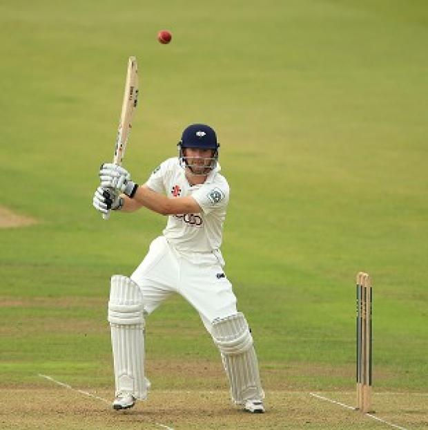 Salisbury Journal: Adam Lyth reached three figures as Yorkshire took control at Chester-le-Street