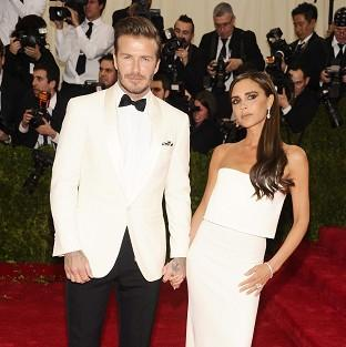 Salisbury Journal: David Beckham and Victoria Beckham wore matching outfits at the Metropolitan Museum of Art's Costume Institute benefit gala in New York