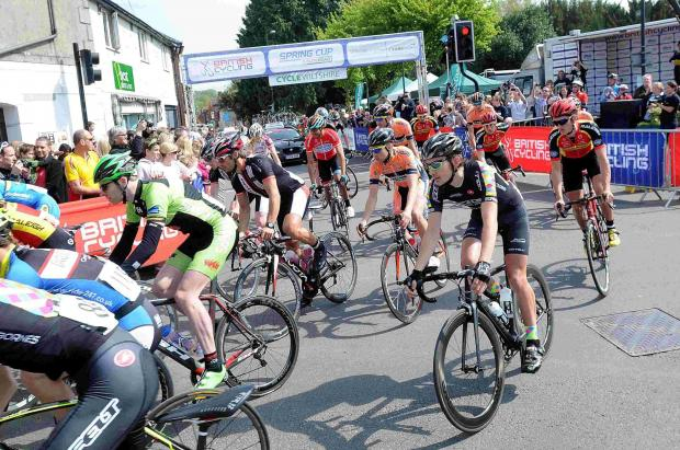 Poland's Bialoblocki crosses home first in Wilton's cycling event