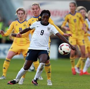 Salisbury Journal: Eniola Aluko was England's stand-out performer in the World Cup qualifier against Ukraine