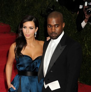 Kim Kardashian insists she and Kanye West are not yet married