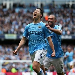 Salisbury Journal: Samir Nasri gave Manchester City the lead in the encounter
