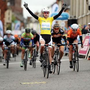 Salisbury Journal: Holland's Marianne Vos of the Rabo Liv Cycling Team wins Stage Five and overall winner of the 2014 Women's Tour Of Britain