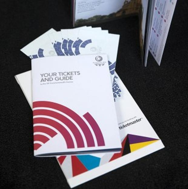 Salisbury Journal: Tickets and a guide for the Glasgow 2014 Commonwealth games are being sent out today