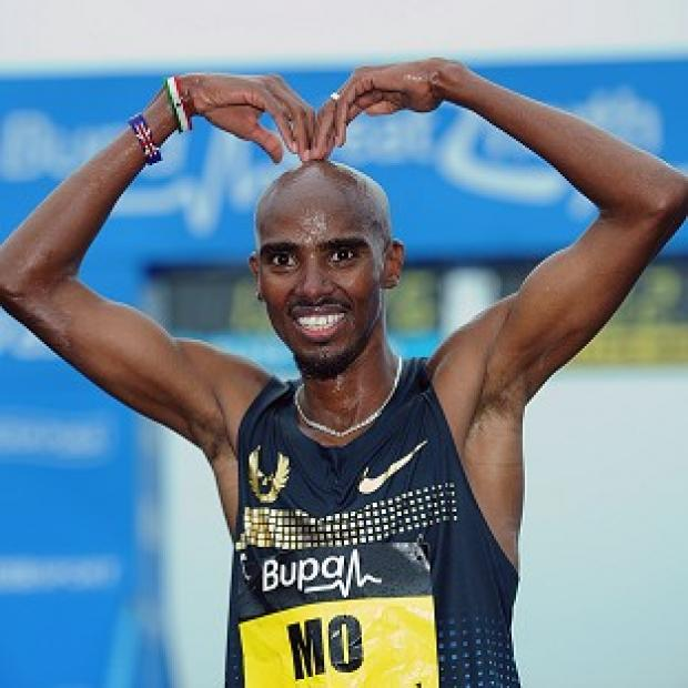 Salisbury Journal: Mo Farah took to Twitter to confirm he will compete in Glasgow
