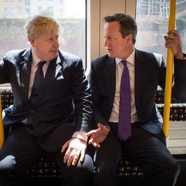 Salisbury Journal: Mayor of London Boris Johnson and Prime Minister David Cameron on the campaign trail