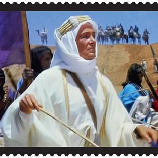Salisbury Journal: Lawrence Of Arabia is among the films featuring on a new set of stamps