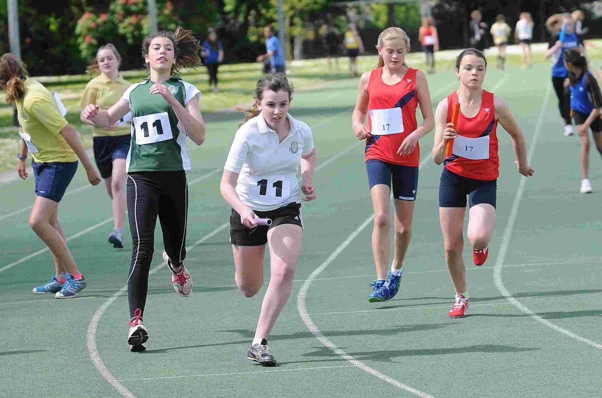 Young athletes put talents to the test