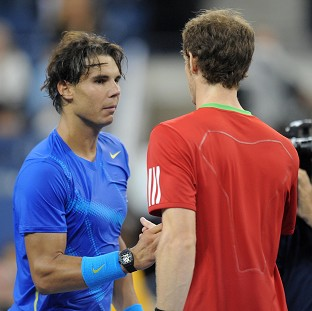 Andy Murray, right, and Rafael Nadal will do battle