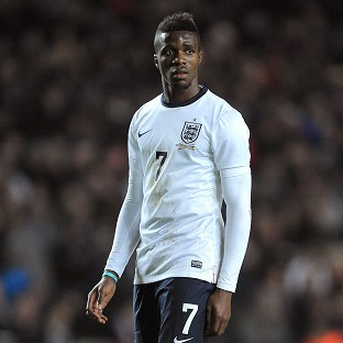 Wilfried Zaha has been ruled out of Monday's England Under-21 match against Wales