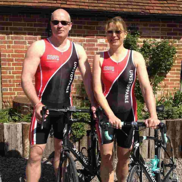 Salisbury Journal: Charity triathlon for Brian and Chris