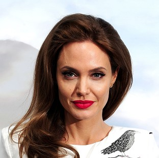 Angelina Jolie said she did not want Hollywood to be the centre of her household