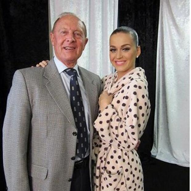 Salisbury Journal: Screengrab image taken from the Twitter feed of Adam Mountford of Geoffrey Boycott and Katy Perry