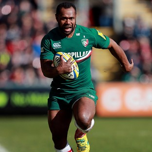 Vereniki Goneva has been namend the Premiership players' player of the year