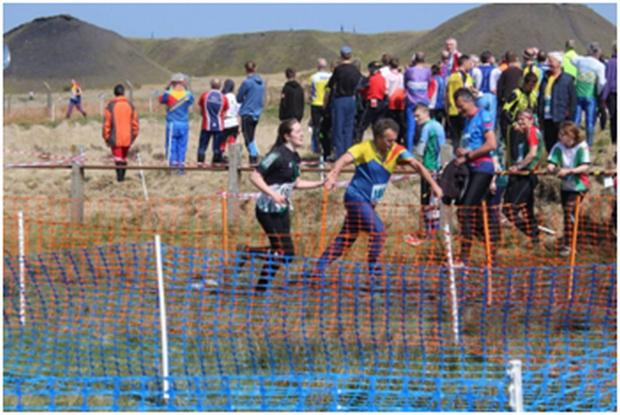 Orienteers pull together in Wales