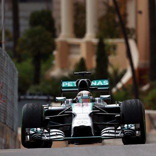 Lewis Hamilton goes into Sunday's Monaco GP with a slender three-point cushion over Nico Rosberg