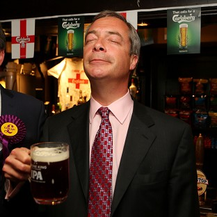 Farage turns sights on Westminster