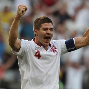 Salisbury Journal: England's Steven Gerrard is in a positive frame of mind ahead of the World Cup