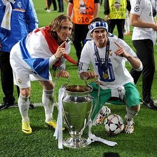 Salisbury Journal: Gareth Bale, right, helped Real Madrid to their 10th European Cup