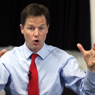 Deputy Prime Minister and Liberal Democrat leader Nick Clegg has insisted he wants to 'finish the job', despite poor poll results