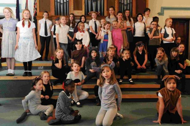 Open day for Amesbury Girls' Brigade