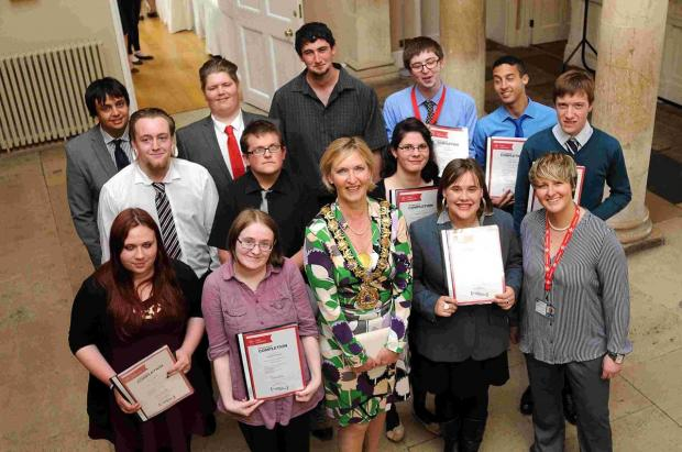 Prince's Trust students presented with certificates