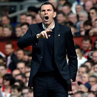 Gus Poyet led Sunderland to Premier League safety last season