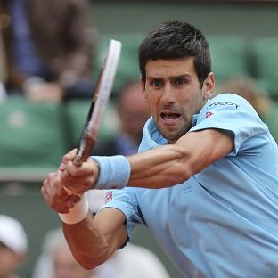 Novak Djokovic, pictured, strolled to victory against Jeremy Chardy (AP)