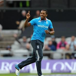 Salisbury Journal: Alastair Cook hailed the performance of Chris Jordan, pictured