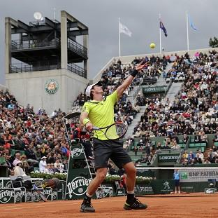 Salisbury Journal: Andy Murray, pictured, eased into the third round of the French Open with victory over Marinko Matosevic (AP)