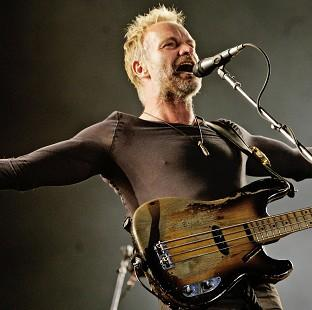 Salisbury Journal: Sting will perform a song from his Broadway-bound musical, The Last Ship