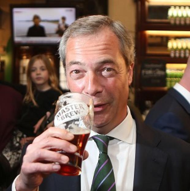 Salisbury Journal: Ukip leader Nigel Farage's party could enjoy more support at next year's general election, a new poll suggests