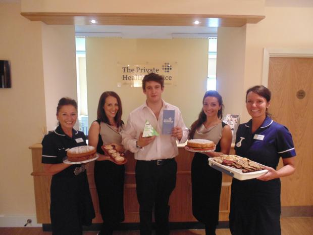 Private Practice coffee morning raises funds for charity