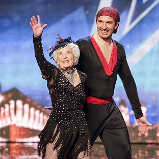 Paddy and her partner Nico impressed the judges in the BGT semi-finals