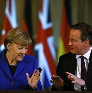 Salisbury Journal: David Cameron issued his warning to Angela Merkel at the EL leaders summit in Brussels, it was reported