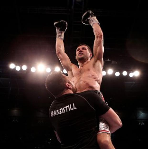 "Salisbury Journal: Carl Froch enjoyed the ""best moment"" of his career at Wembley"