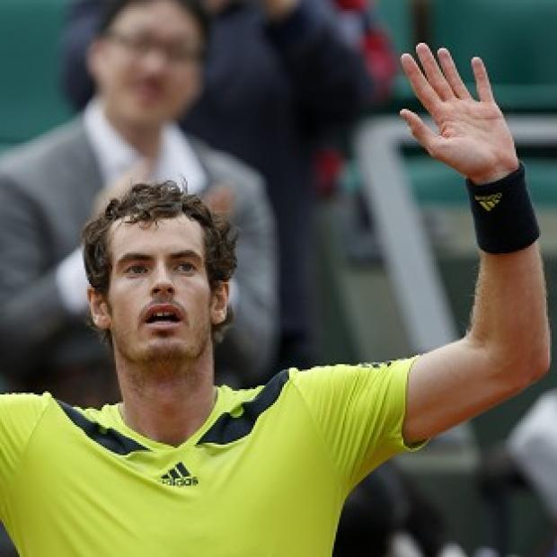 Salisbury Journal: Andy Murray beat Philipp Kohlschreiber 12-10 in the fifth set in their third-round match at the French Open (AP)