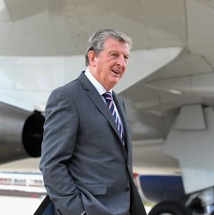 England manager Roy Hodgson promised his side will sing the national anthem with pride