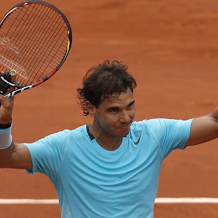 Rafael Nadal is aiming for his ninth French Open title (AP)