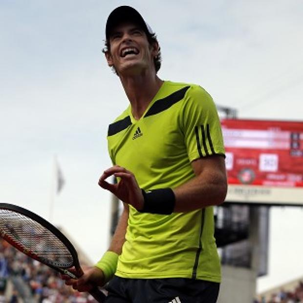 Salisbury Journal: Andy Murray has reached the quarter-final stage of the French Open (AP)