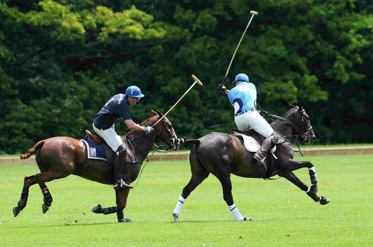 First para-polo match in Tidworth