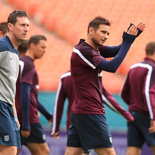 England's Frank Lampard is fully focused on the World Cup