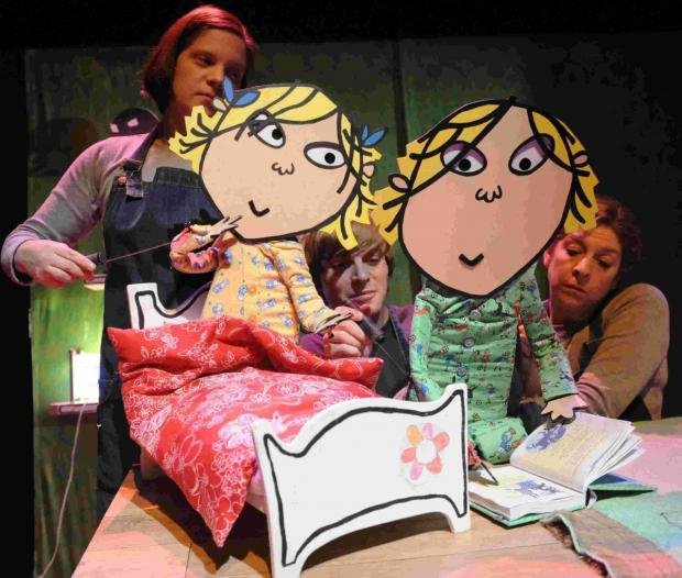 Charlie and Lola to visit Playhouse