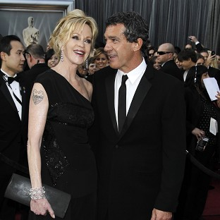 Melanie Griffith and Antonio Banderas are to divorce (AP)