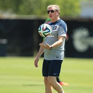 England manager Roy Hodgson is keeping cool, despite two successive friendly draws