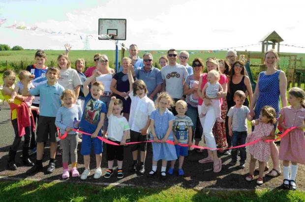 New playground for Odstock
