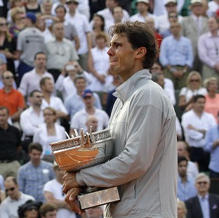 Rafael Nadal has now won nine French Open titles (AP)